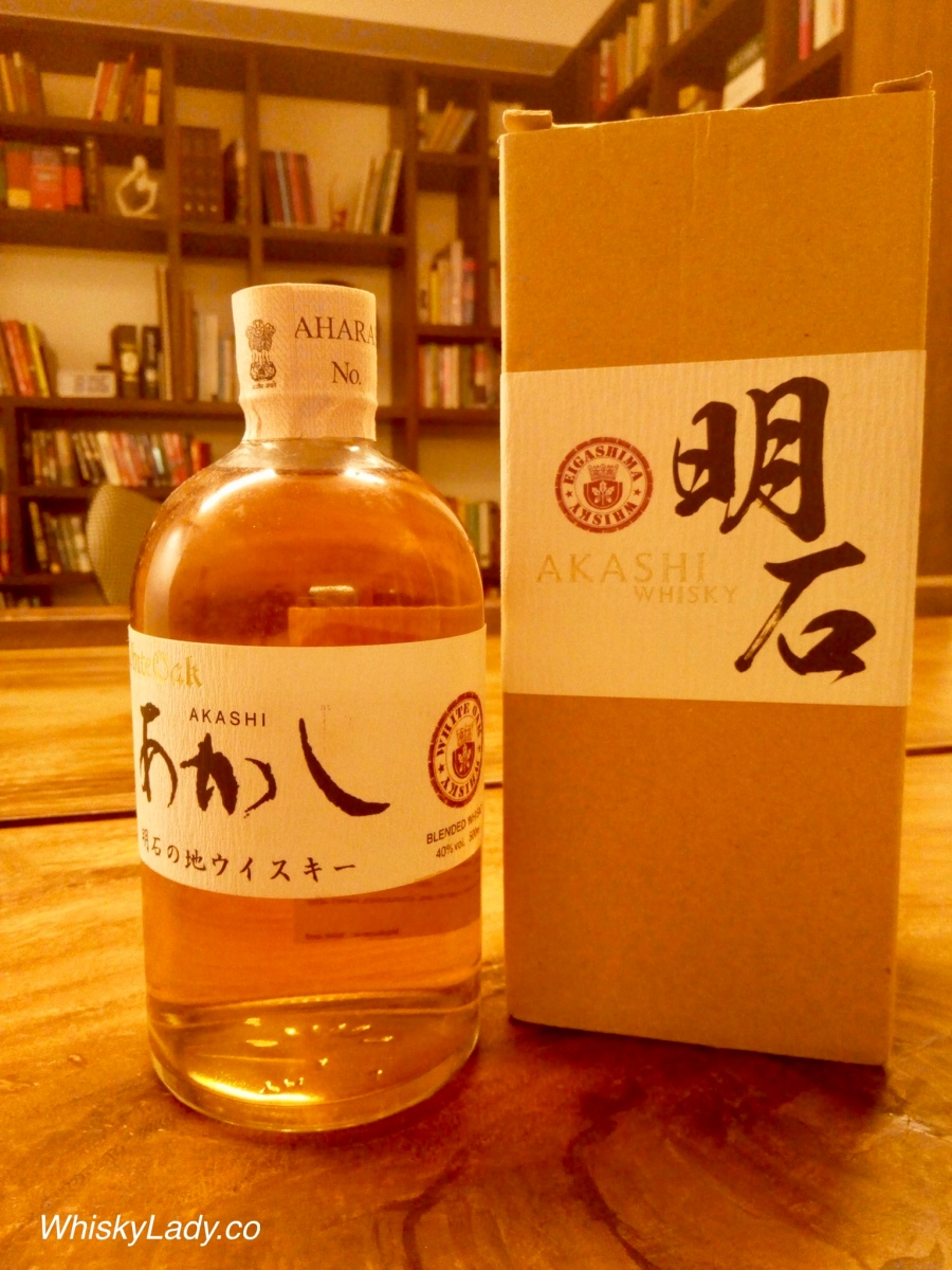 Asian Delights - White Oak Akashi Single Malt 40%