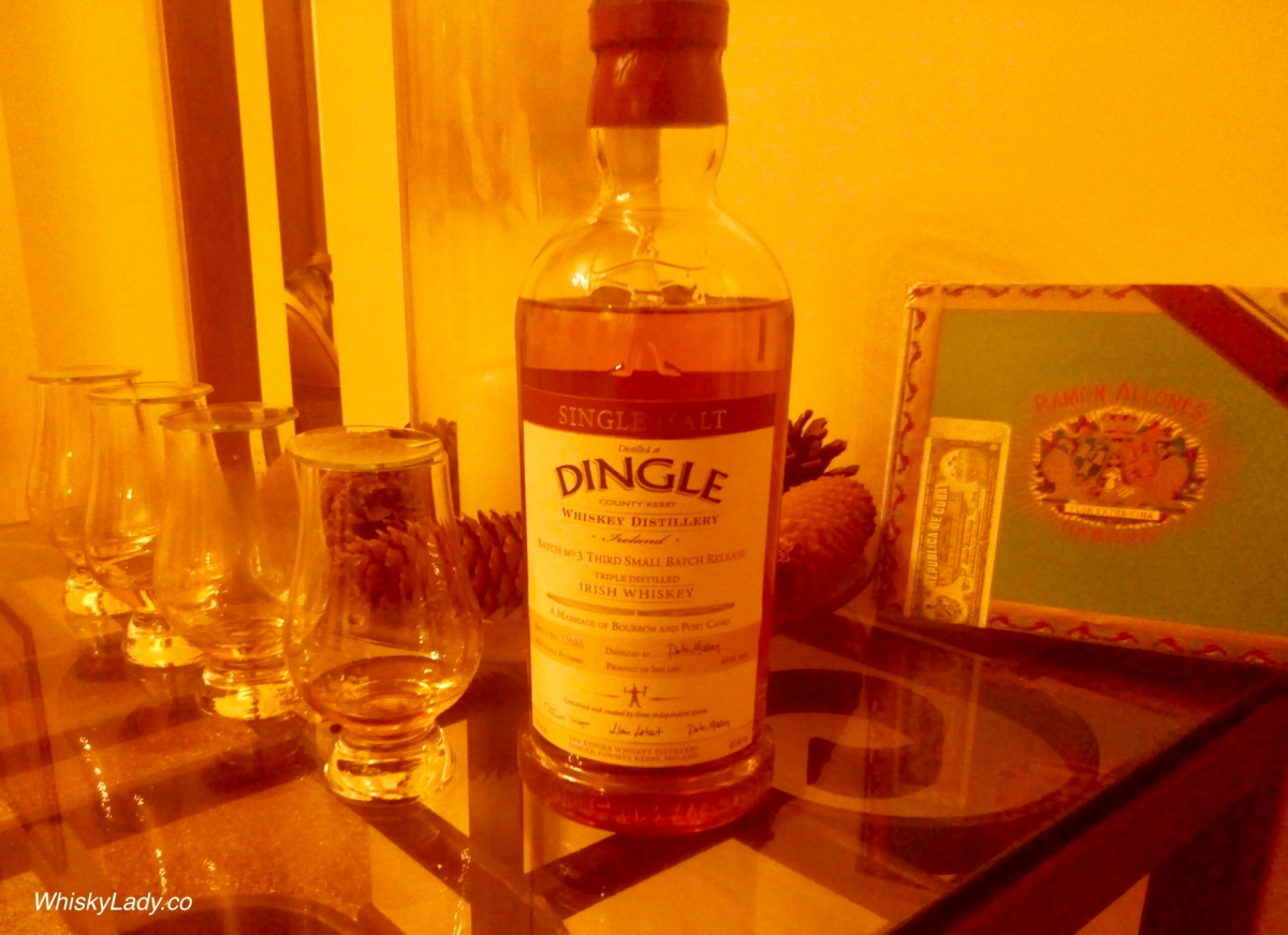 Irish Whiskies - Dingle Triple Distilled 46.5%