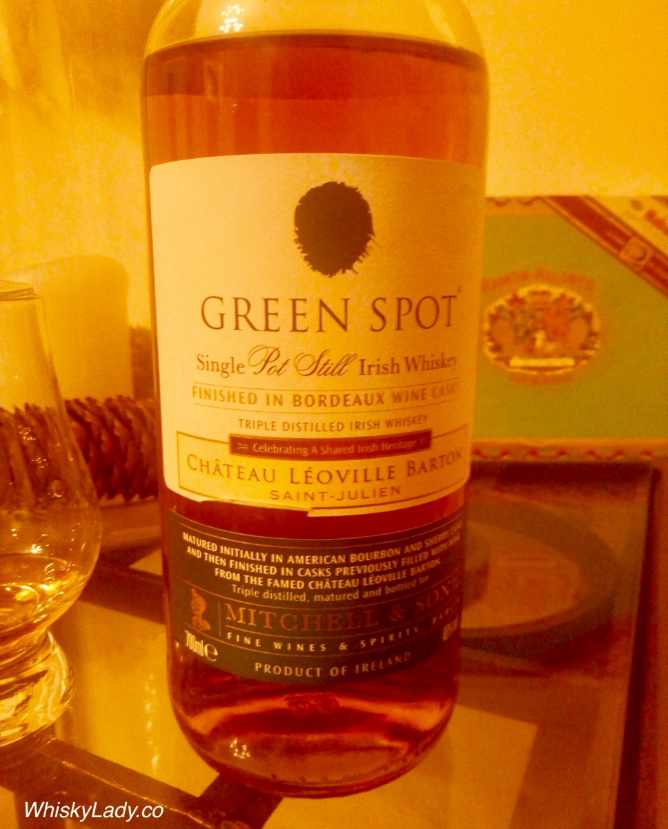 Irish Whiskies - Green Spot Bordeaux 46%